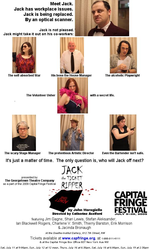 Jack the Ripper Flyer
